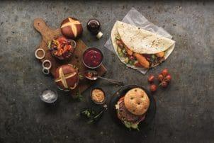 Salomon Burger Wraps Rezepte