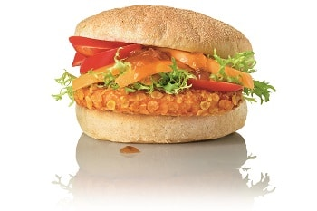 Salomon Crunchy Chicken Burger