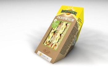 Bel Foodservice Leerdammer Käse Rucola Creme Sandwich