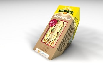 Bel Foodservice Leerdammer Käse Schinken Sandwich