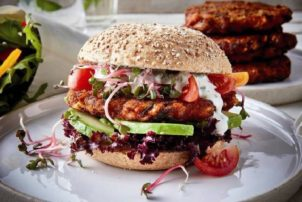 Burger vegetarisch convenience avita patty