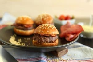 Mini Burgermit Bacon Delifrance