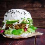 Sushi-Burger-vegan-vegetarisch-Reis-Hybridfood | Snacktrends 2019