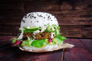 Sushi-Burger-vegan-vegetarisch-Reis-Hybridfood   Snacktrends 2019