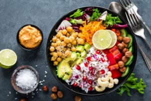Salat_Food-Bowl_vegetarisch