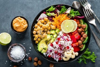 Salat_Food-Bowl_vegetarisch