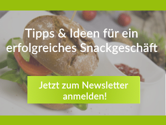 Newsletteranmeldung snackconnection