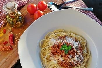 Spaghetti Bolognese Pasta Nudeln
