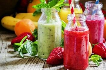 Smoothie Obst Proteine gesund