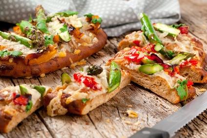 Sandwich Panini Spargel Vegetarisch warm