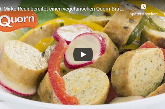 Wurst vegetarisch Salat Zubereitung Mirko Reh Bestcon