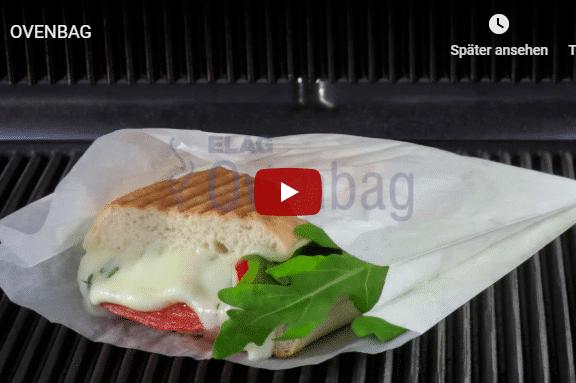 Verpackung hitzeresistent grill panini beutel
