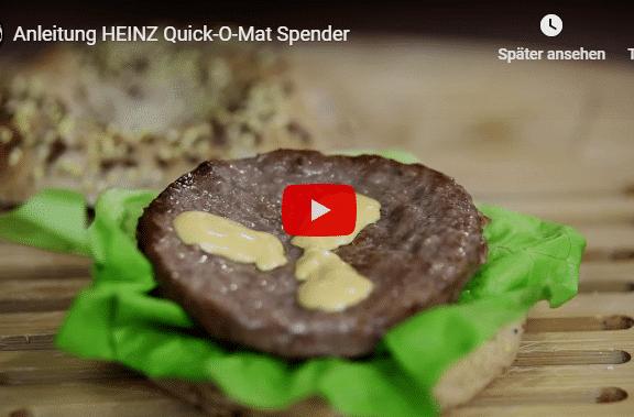 Saucen Spender Ketchup Mayo Senf Quick o Mat heinz