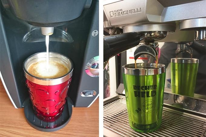 Kaffeebecher Mehrweg To Go Kaffeemaschine Cup Trends