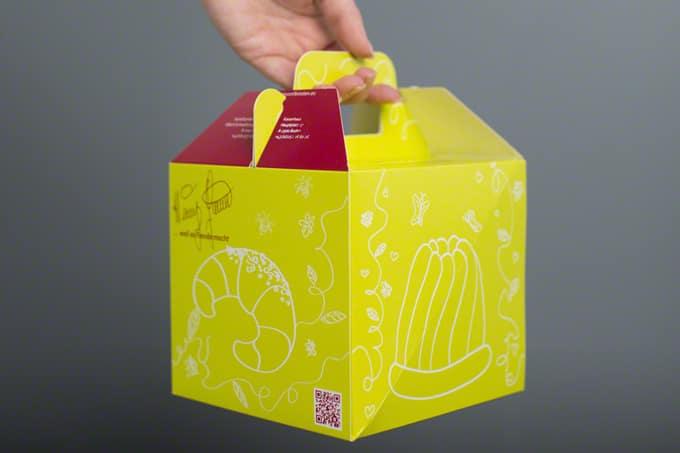 Verpackung Torten Backwaren Kuchen Rausch