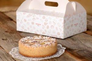 Verpackung Torten Backwaren Kuchen Gebäck Rausch