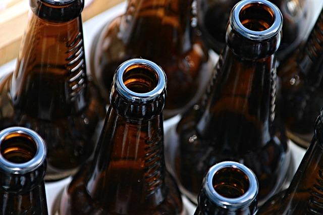 Glasfalschen Verpackungen Getränke Mehweg