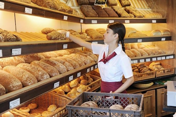 Bäckerei Backwaren Verkauf Frau