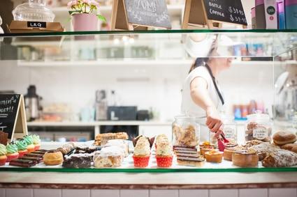 Bäckerei Backwaren Cronut süßes Gebäck