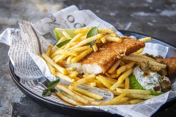 Pommes Kartoffelbeilage Fisch