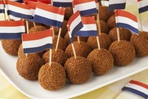 Bitterballen Holland Fleischbällchen Flagge