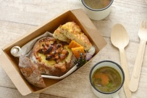 Bread Bowl To Go Suppe Tasse