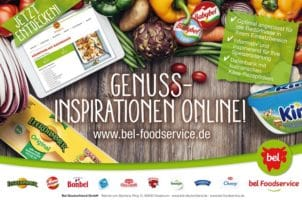 bel foodservice website relaunch neu 2019
