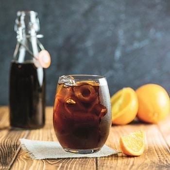 Kaffee Cold Brew kalt Orange Sommer Tchibo