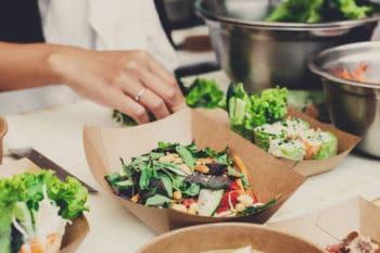 Verpackung Salat gesund nachhaltig
