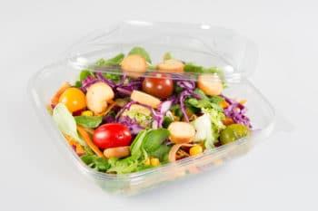 Verpackung Salat Plastik Transparent