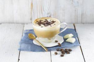 Soya Latte Kaffee vegan Alrpo Milchersatz