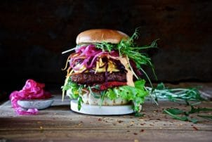 Burger vegan Bestcon Ultimate Fleischersatz