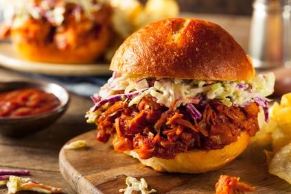 Burger Jackfruit vegan Fleischersatz