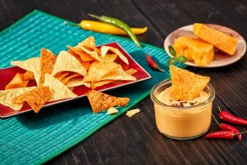 Tacos Naches Käsesauce Dairygold