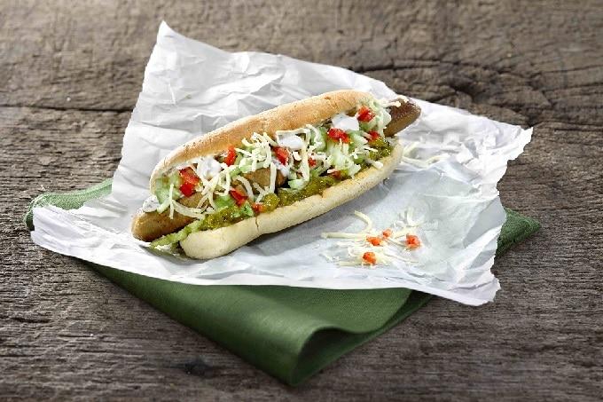 Hot Dog Vegetarisch Gurken Relish Develey