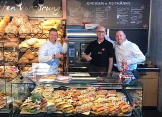 Bäckertheke Self Cooking Center Rational | snackconnection