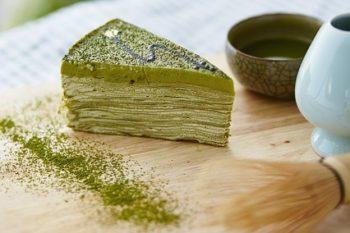 Matcha Kuchen Torte Pulver Gebäck süß