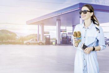 Tankstelle snack Kiri Verkehrsgastronomie Tankstellenshop