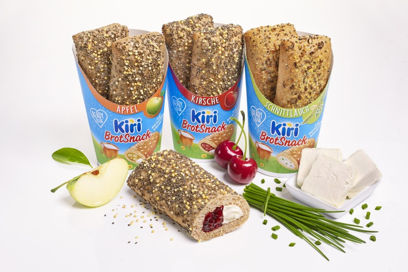 Kiri Brot Snack Sorten | snackconnection