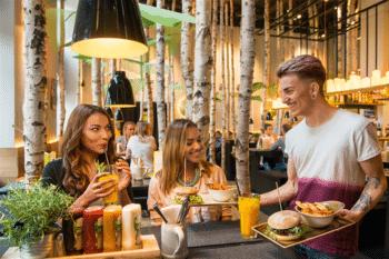 Hans im Glück Birken Restaurant Ambiente Burger