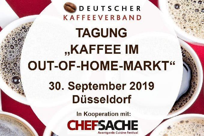 Messe Kaffee im OOH Out of Home Markt Kongress Kaffeeverband