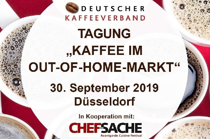 Messe Kaffee im OOH Out of Home Markt Kongress Kaffeeverband
