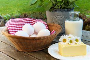 regionale Butter, Eier und Milch | snackconnection