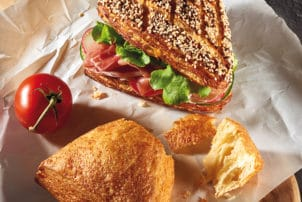 Backwaren belegtes Brot dreieckig   snackconnection