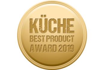 Küche Gold Gewinner Best Product Award 2019 Homann