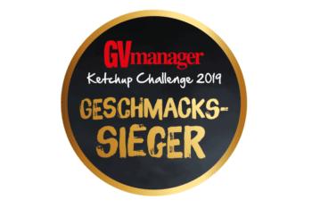 GVManager Geschmackssieger der Ketchup Challenge 2019 Homann