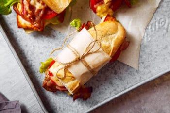 Baguette Papierverpackung nachhaltig
