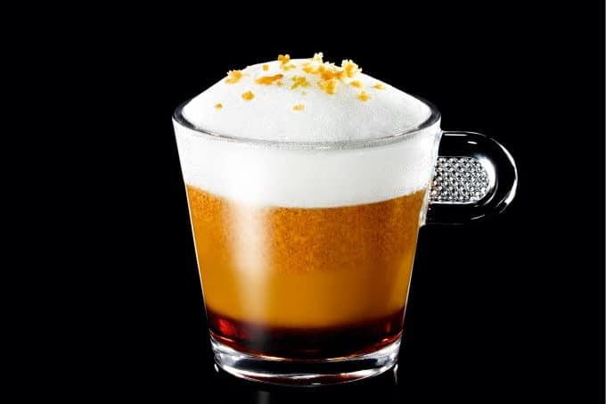 Nespresso Kaffee mit Kurkuma und Lebkuchen