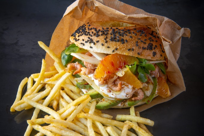 Belgischer Bagel mit Finest Super Fine Fries