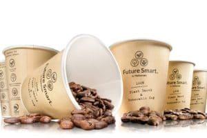 Huhtamaki Future Smart Kaffeebecher Verpackung
